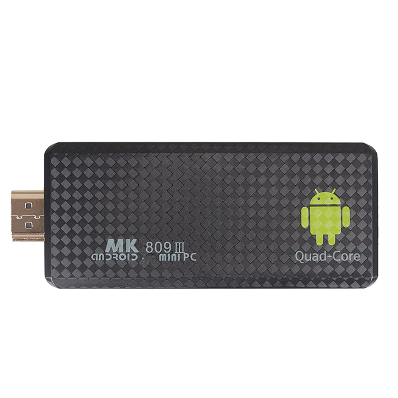 1080P Android TV Stick MK809III 2G/8G Quad Core 1.6GHz Rockchip RK3188T Android 4.4 TV Dongle Mini PC Bluetooth Wifi XBMC DLAN(China (Mainland))