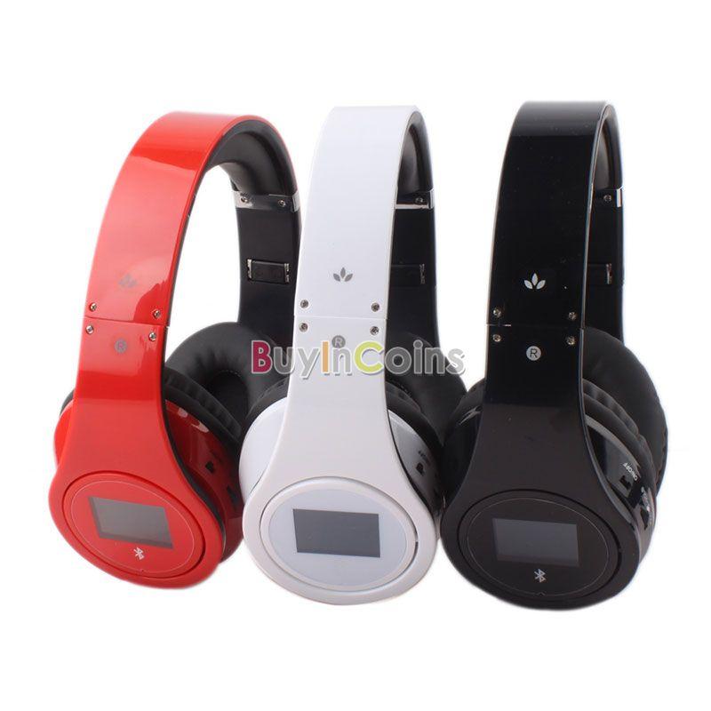 Wireless Stereo Bluetooth Headphone Headset for Cell Phone Laptop PC Tablets US AS #56905(China (Mainland))