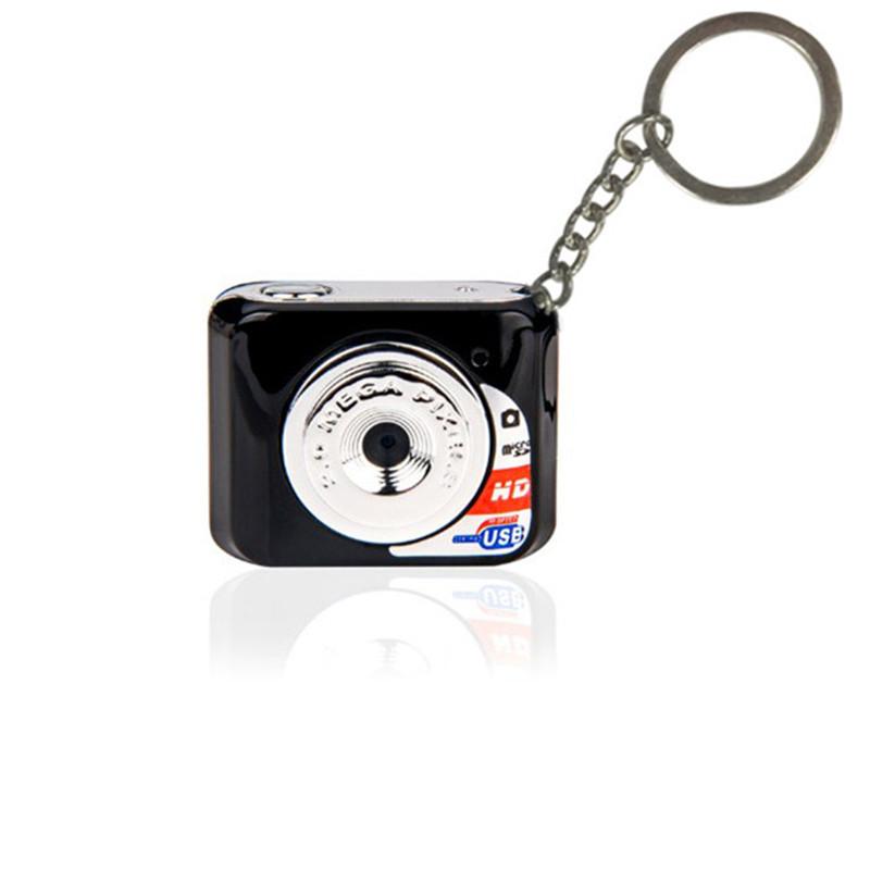 Free Shipping Red Black Camcorder Web Camera Tiny Keychain Pocket Toy Hidden Cam Audio Recorder(China (Mainland))