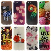 Art Bicycle Stairs TPU Silicone Soft Case For Apple iPhone 5C Back Cover Phone Protect Bag Cases