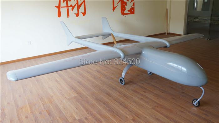 Super Huge MUGIN 4450mm UAV (H)T-tail Plane Platform Aircraft FPV Radio Remote Control H T Tail RC Model Airplane DIY Toys Drone(China (Mainland))