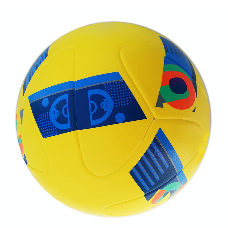 Hot Sale 2016 New Arrival Size 5 PU Soccer Ball Official Competition Match Training Football Outdoor Sports Balls 128-5(China (Mainland))