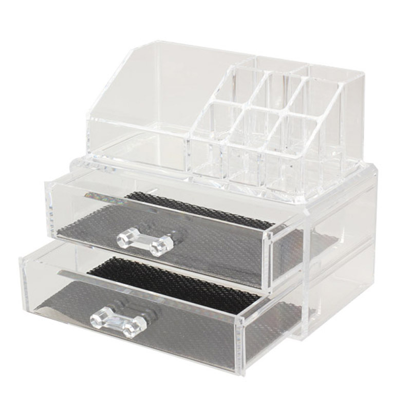 High Quality Acrylic Cosmetic Organizer Drawer Makeup Case