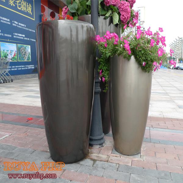 buy fiberglass outdoor planter frp flower