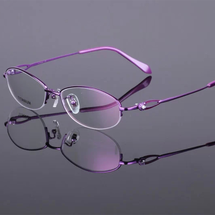 Lightweight Titanium Eyeglass Frames : Aliexpress.com : Buy Glasses ultra light rimless ...