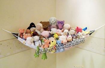 1 шт. горячая распродажа детские игрушки сумка для хранения гамак джамбо делюкс Pet организовать угол мягкая игрушка гамак чистая животные игрушка сумка LA671964