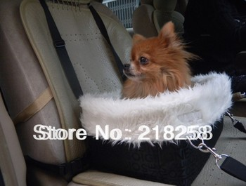 New Arrival Pet Dogs Black Car Carrier Seat Cover Dogs Carrier Bag Free Shipping