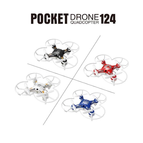 Bolso FQ777-124 Drone 4CH 6 Axis Gyro Quadcopter com Switchable controlador RTF helicóptero de controle remoto brinquedos(China (Mainland))