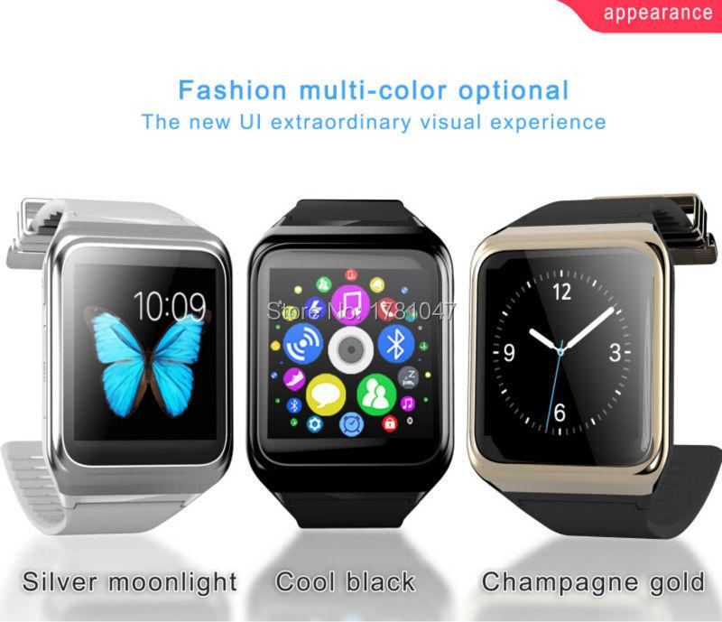 New Arrival cheap Heart Rate GPS/GSM/Camera/SIM card Bluetooth Smart Wrist watch(China (Mainland))