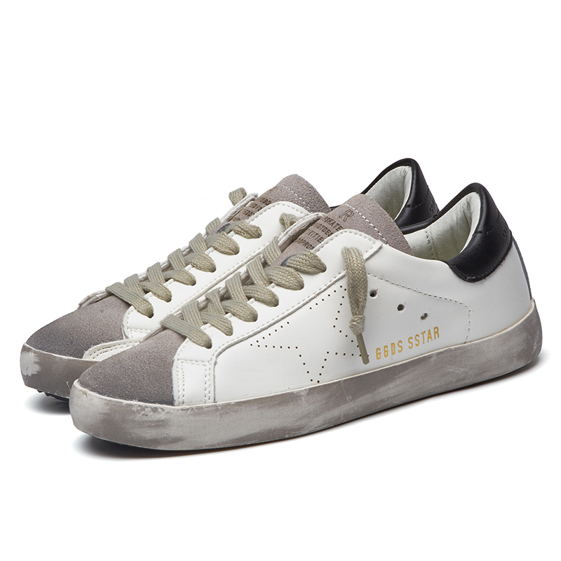 Italy Golden Goose Shoe Genuine Leather Goose Korean Men casual shoes All Star Shoes Footwear zapatos de hombre men's flats(China (Mainland))