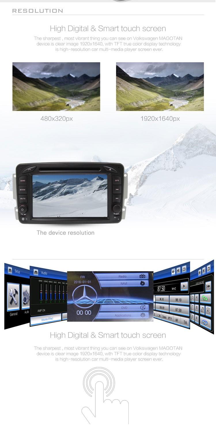 """Купить HD 7 """"сенсорный экран Dvd-плеер Автомобиля Для Mercedes-Benz c-class W203 с Рулевого Колеса Управления мультимедиа FM AM CD функция RDS карта"""