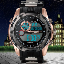 2015 NEW Top Brand Luxury Sport Watches For Men Digital Analog Shock Watch Army Military Waterproof Wristwatches Relogio Reloj