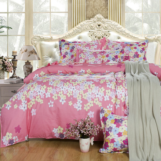 2015 new in hot free shipping 38 types 4pcs bedding set for Types of bed covers
