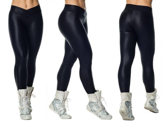 Wholesale-COFFEE New Fashion Sexy Woman Capri Sportwear Running ...
