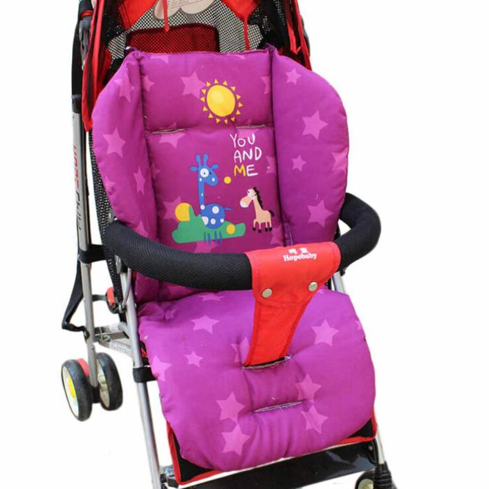 Modern Baby Stroller Cushion Children Kids Cart Seat Cushions Cotton Thick Mat Jul21(China (Mainland))
