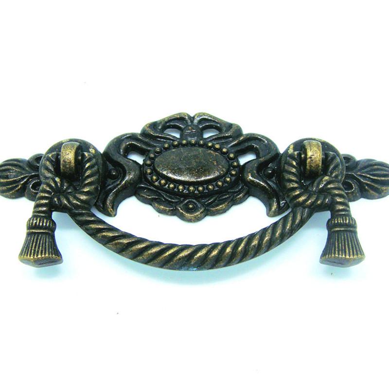 Jewelry Box Hardware Pulls Pcs bronze jewelry box case wooden