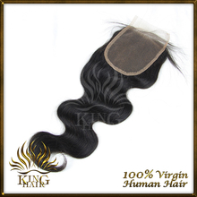 Peruvian Virgin Hair Invisible Base Lace Closure 4 4 Bleached Knots Free And Middle Part Closure