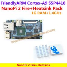 FriendlyARM S5P4418 Quad Cortex-A9 NanoPi 2 Fire Demo Board(400MHz~1.4GHz 1GB DDR3 RAM)+Heat sink=NanoPi 2 Fire Standard Package(China (Mainland))