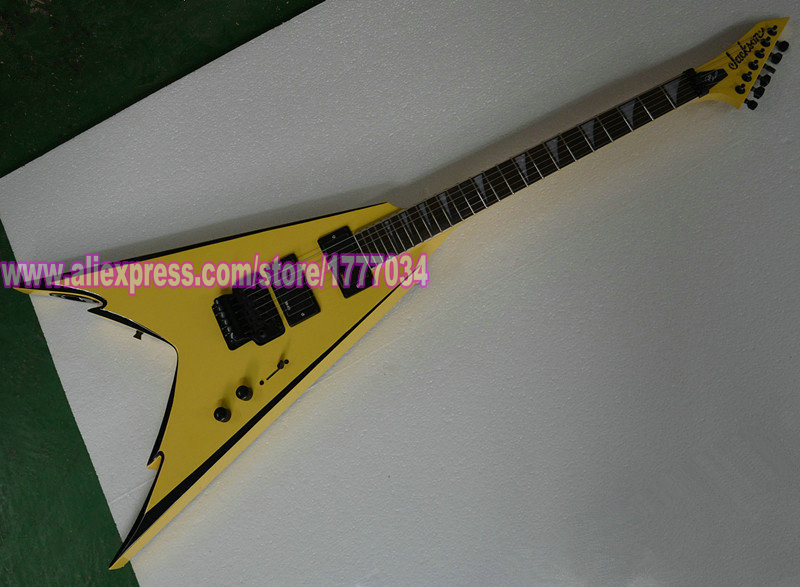 Promotion Price Free shipping Top quality Musical Instrument 6 strings Jackson King V electric guitar(China (Mainland))