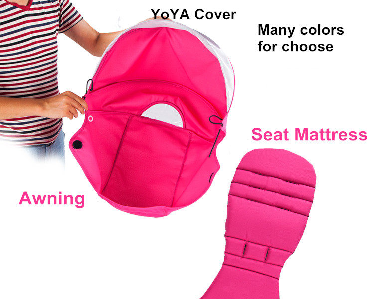 Гаджет  General seat cushion and ceiling for yoya baby car buggiest baby stroller general pad set babyzen baby car None Детские товары