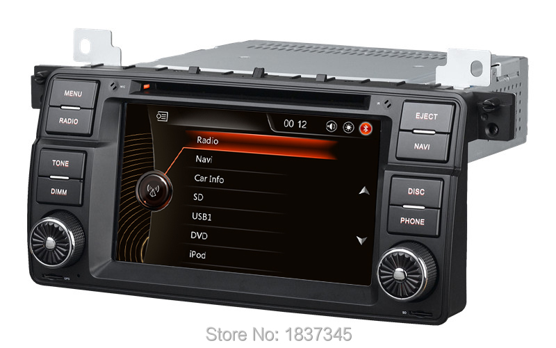 1 din 7 inch car dvd player for BMW car audio navigation system for BMW E46 X3 Z3 Z4 3 Series with RDS,GPS,USB,SD,DVD,canbus(China (Mainland))