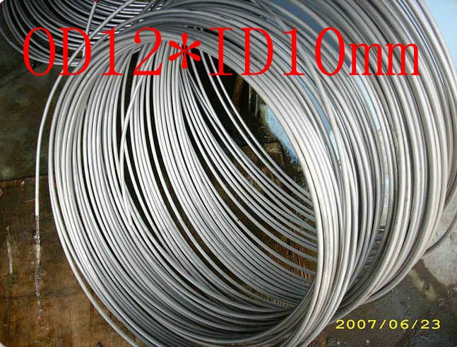 OD12mm*ID10mm,Stainless steel gas line pipe,stainless steel tube,stainless steel coil pipe(China (Mainland))