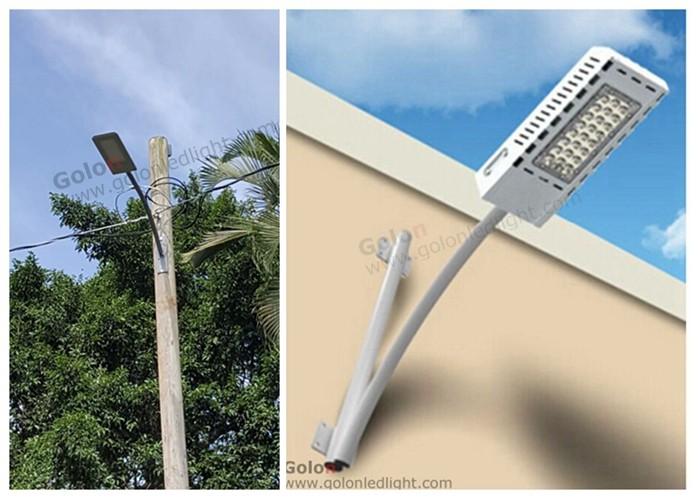 slim street lighting