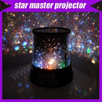 new novelty items new amazing LED star master light star projector led night light #301