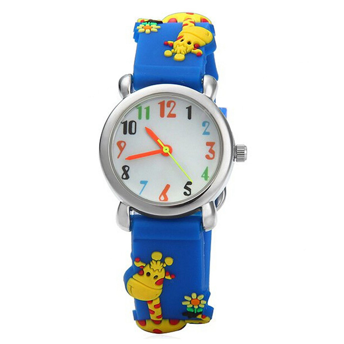 Waterproof Kid Watches giraffe Children Silicone Wristwatches Brand Quartz Wrist Watch Baby For Girls Boys Fashion Casual Reloj