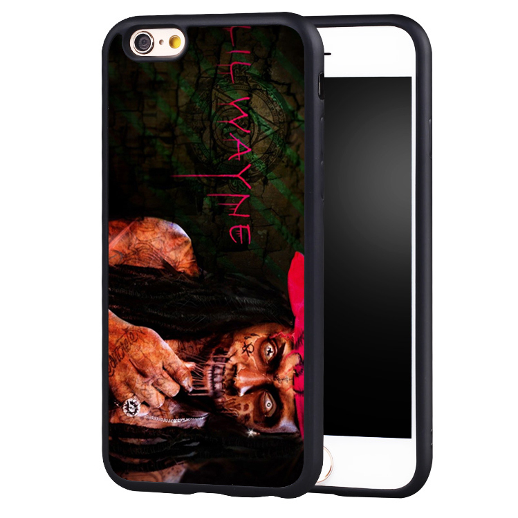 Dope Zombie Cute Cool Lil Wayne Printed Soft TPU Mobile Phone Cases For iPhone 6 6S Plus SE 5 5S 5C 4 4S Back Shell Cover(China (Mainland))