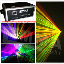 10 watt RGY Stage Light Lighting animation laser Laser Projector Party Show Disco AC 90-250V DMX function 24 channels CE