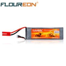 Buy Promotion FLOUREON Lipo 4S 14.8V 5000mAh 35C HXT 4mm Connector Lipo RC Battery Rechargeable RC Helicopter Airplane for $42.56 in AliExpress store