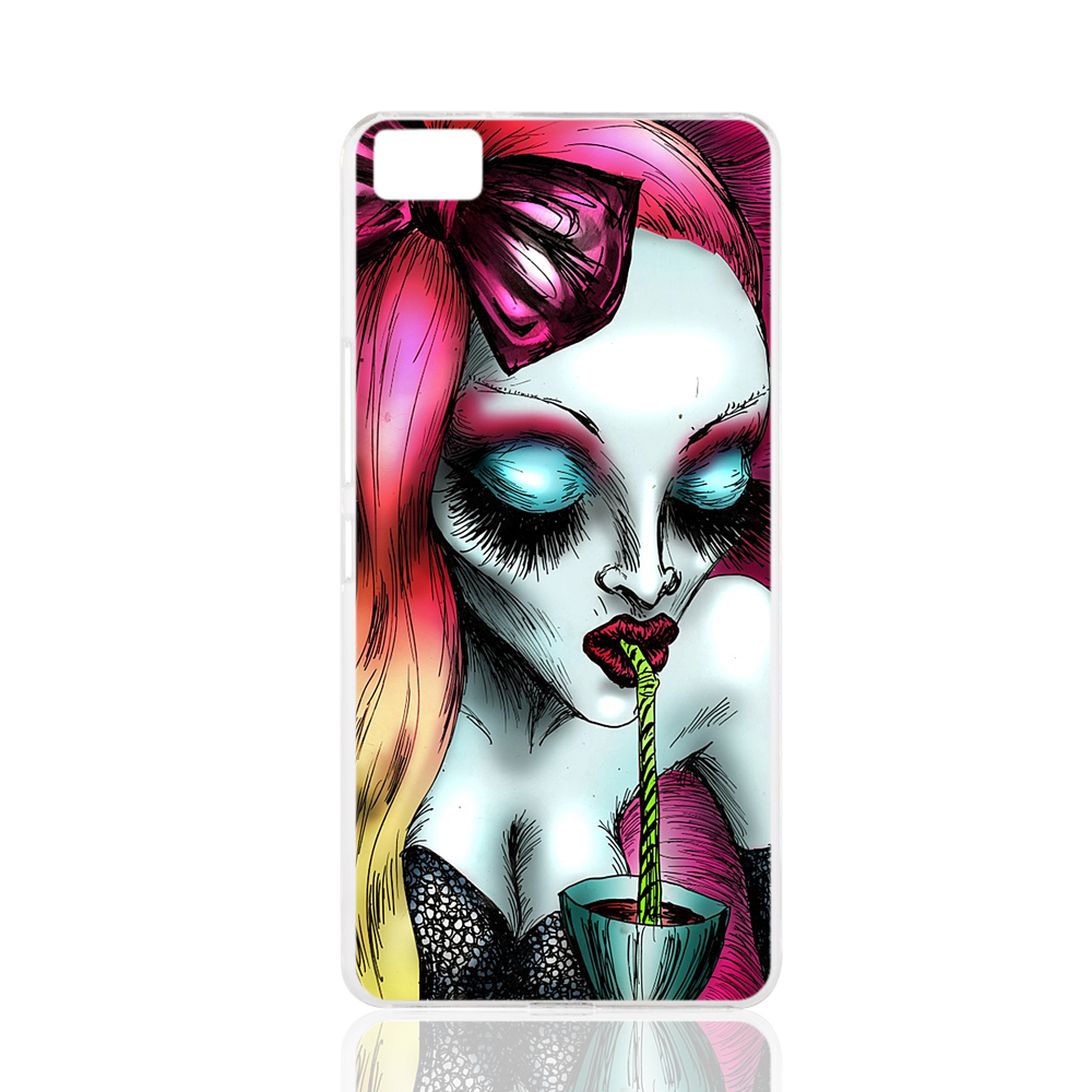 20874 neon-blood women sock cell phone Cover Case for BQ Aquaris M5 for ZUK Z1 FOR GOOGLE nexus 6(China (Mainland))
