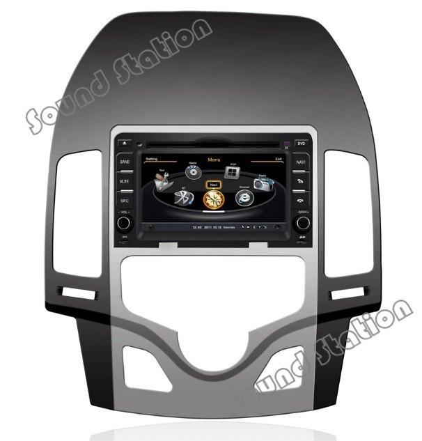 For Hyundai I30 Car DVD GPS Navigation Media Center Radio Stereo Audio Video Central Multimedia Multimidia Autoradio Head Unit(China (Mainland))
