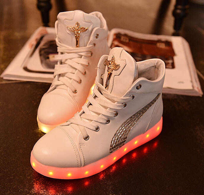 Женские кеды Men And Women Sneakers 14 ! 2015 USB Men Women Shoes женские кеды adv nce outlets 2015 usb zapatos led lighted shoes