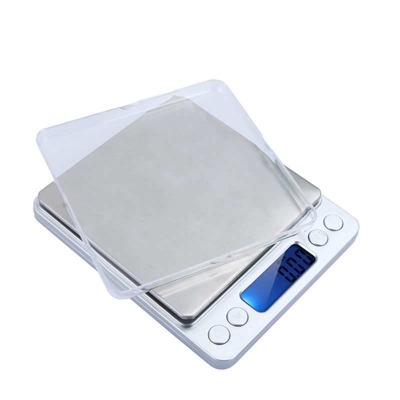 500g/0.01g Mini Digital Platform Jewelry Scale Weighing Balance with Two Trays Counting Function g/ct/dwt/ozt/oz/gn freeshipping(China (Mainland))