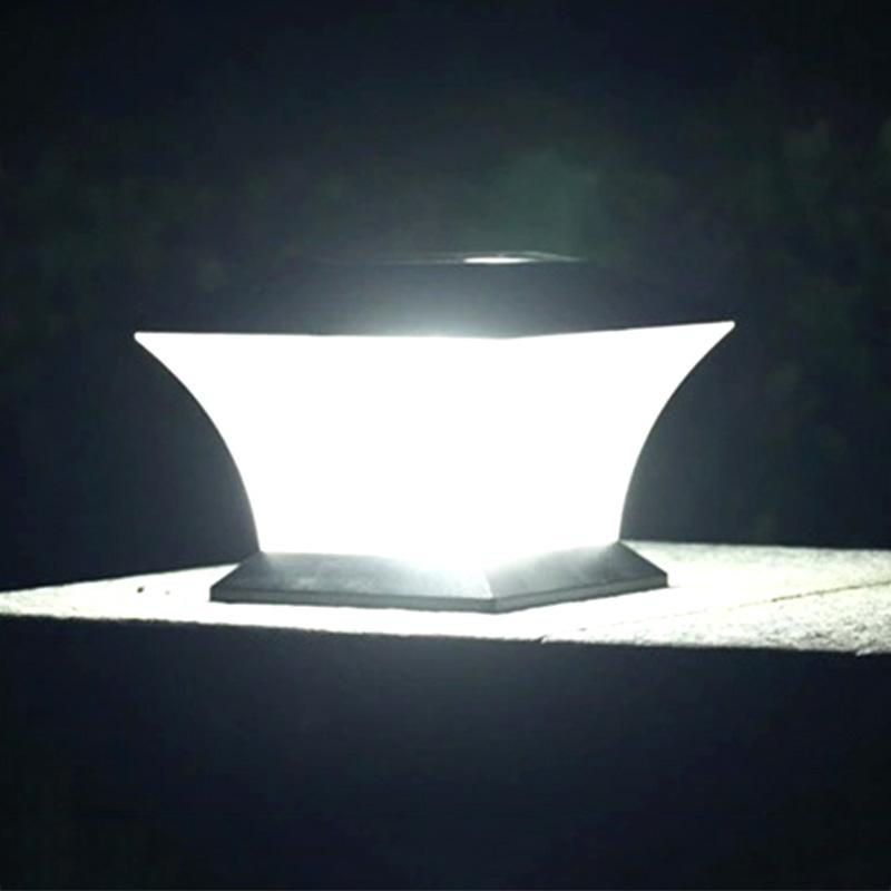 Popular solar pillar lights buy cheap solar pillar lights - Lamparas solares de led ...