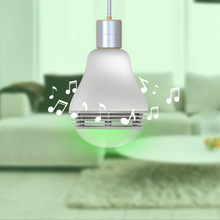 Bluetooth Smart LED Speaker Bulb Intelligent RGB Light Bulb Music Player LED Lamp Waterproof APP Remote Control for Smartphones