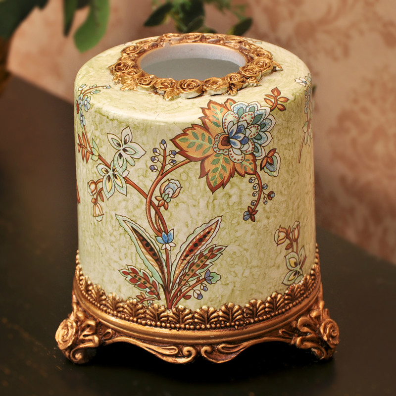 Tissue Boxes Of High Grade Home Furnishing Ceramic Paper