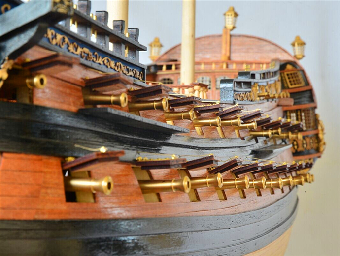 Nidale Model New Version Scale 1 50 Classic Russian Wooden Ship Model Kit Ingermanland 1715 Ship Wooden Model Sc Model