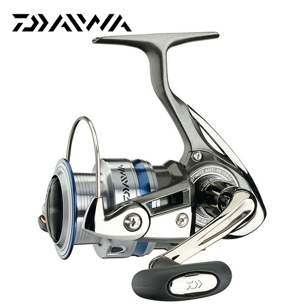 100% Original DAIWA Brand MEGAFORCE 2500A 3500A 4000A 5BB Front Drag Spinning Fishing Reel with Two Metal Spool 5.3:1 Fish Gear(China (Mainland))