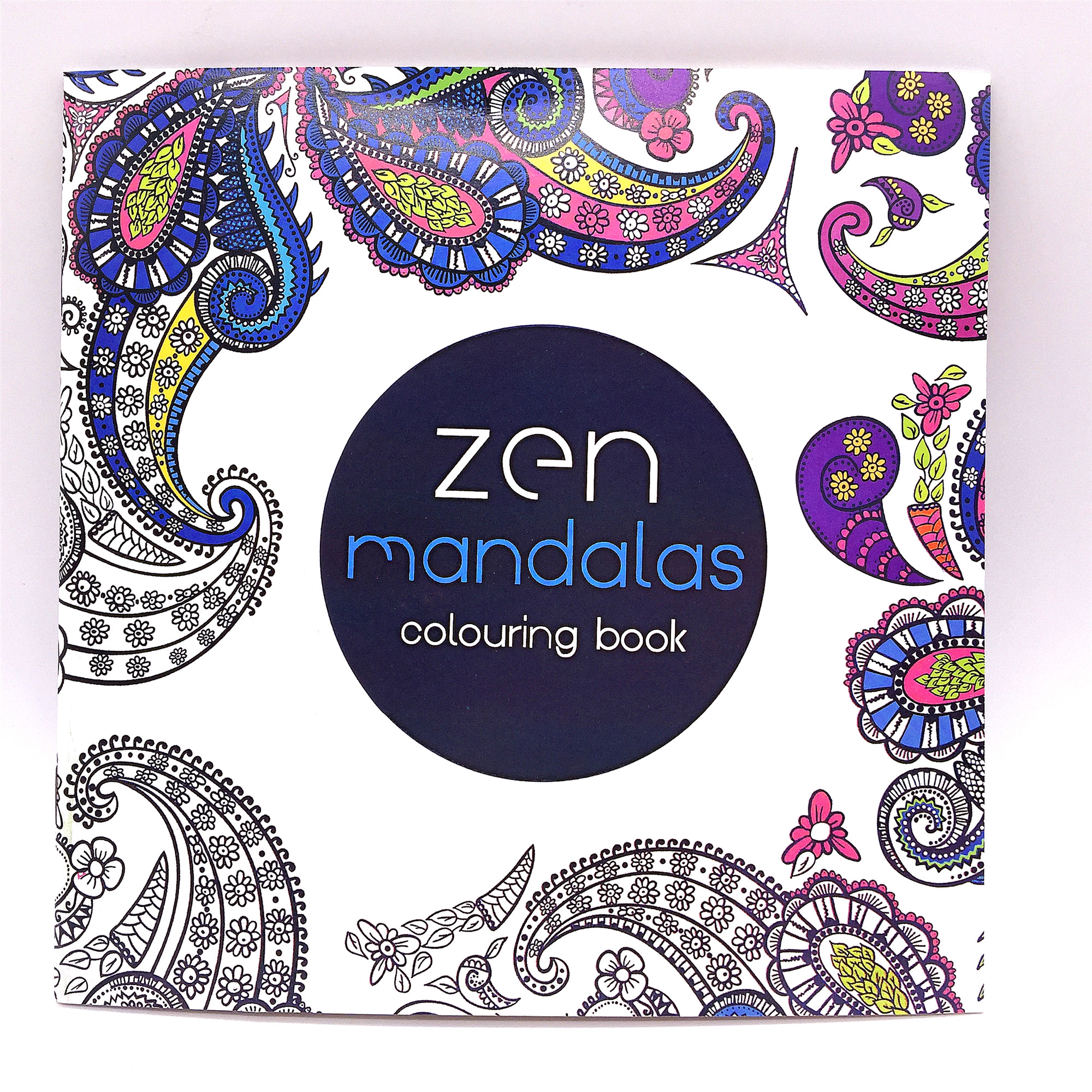 1 Pcs 12 Page 24 Figure Adult Child Graffiti Book Zen Manddlds Colouring Book For Adult Children To Spend Time To Relieve Stress(China (Mainland))