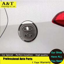 AKD Trim car styling 2013 2014 2015 Kia Rio K2 K3 K4 K5 Sportage r Soul Cerato Forte Tank Cover Gas/Fuel/Oil Cap C - Chris-Automobile Club store