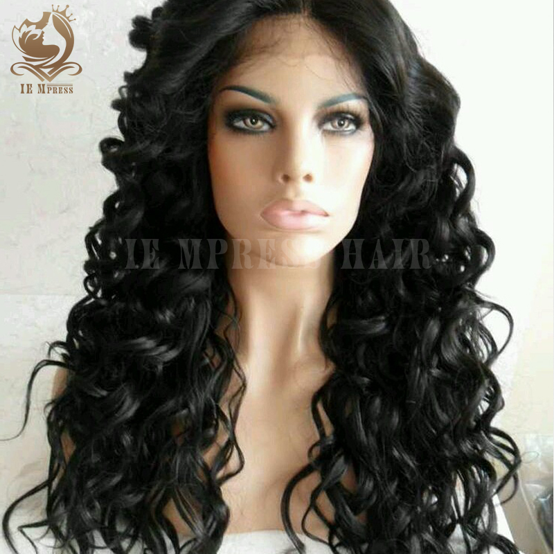 -Virgin-Hair-Curly-Glueless-Full-Lace-Human-Hair-Wigs-For-Black-Women