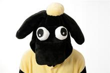 New flannel Sheep Adult Cartoon Animal Onesie Pajama Hooded couples women onesie pajamas