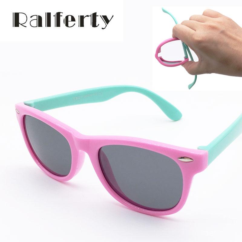 Classic Infant Baby Kids Polarized Sunglasses Children Safety Coating Glasses Sun UV 400 Protection Fashion Shades