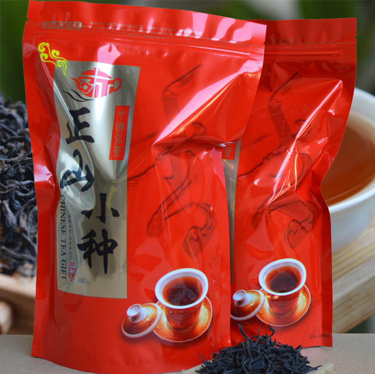 500g Lapsang Souchong Chinese Wuyi Paulownia Black Tea Natural Fresh Warm Stomach Health Care Buck Red Te B2012-50 cheap