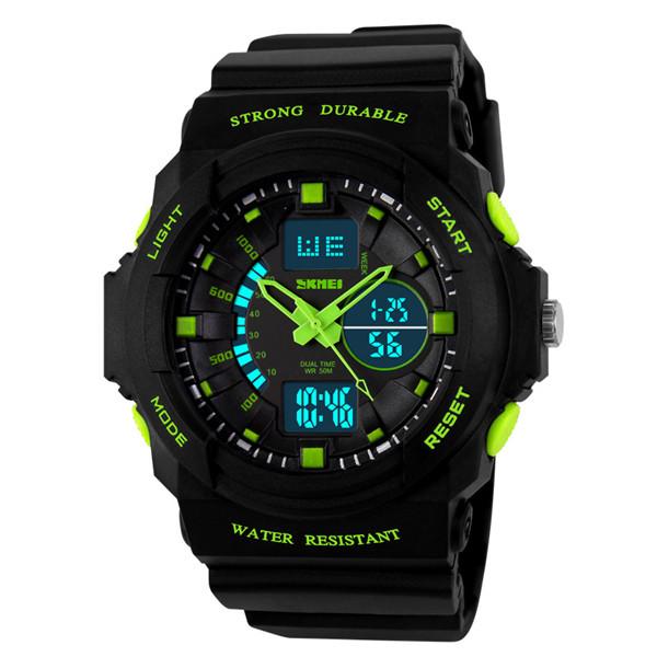 New 2014 Men Sports Watch LED Quartz swim dress ladies dive watch Digital Analog Multifunctional Alarm Military Watches<br><br>Aliexpress