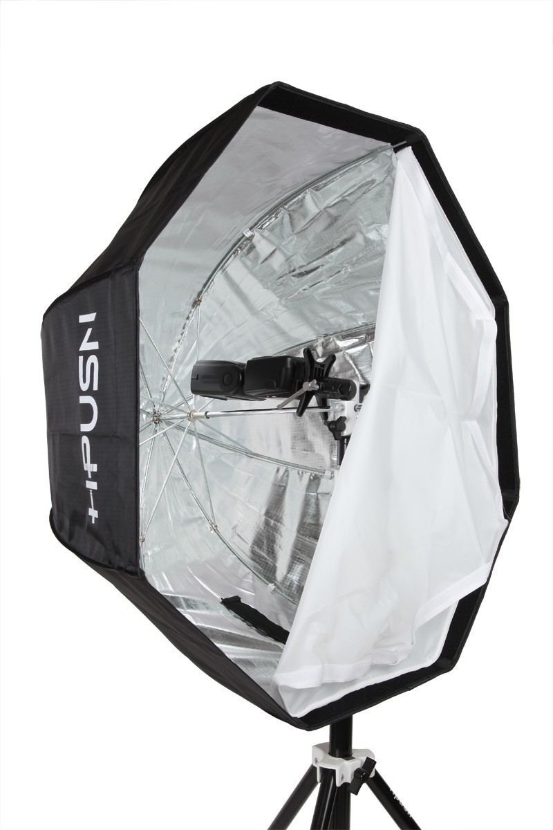 hot selliing hpusn speedlite octagon umbrella softbox 120 cm photography studio umbrella