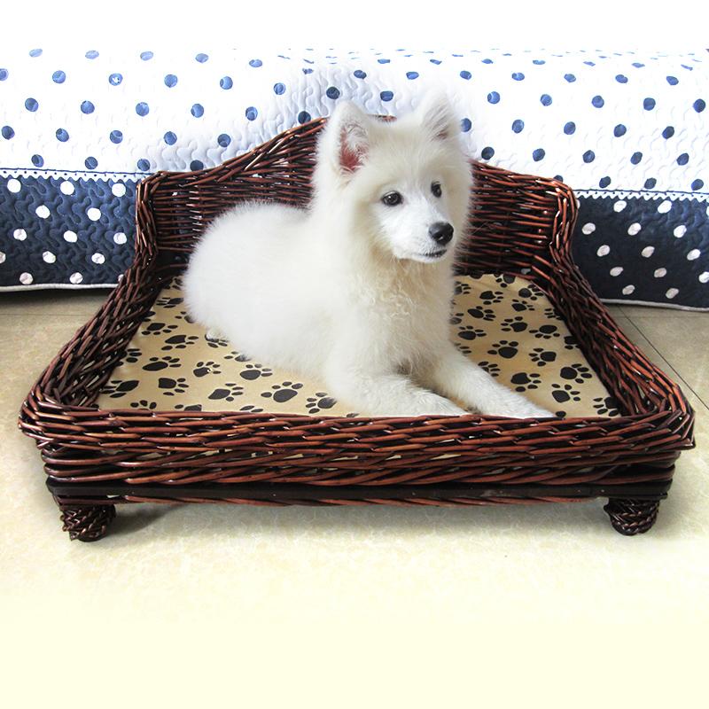 Promoci n de camas para perros de madera compra camas - Camas para perros de madera ...